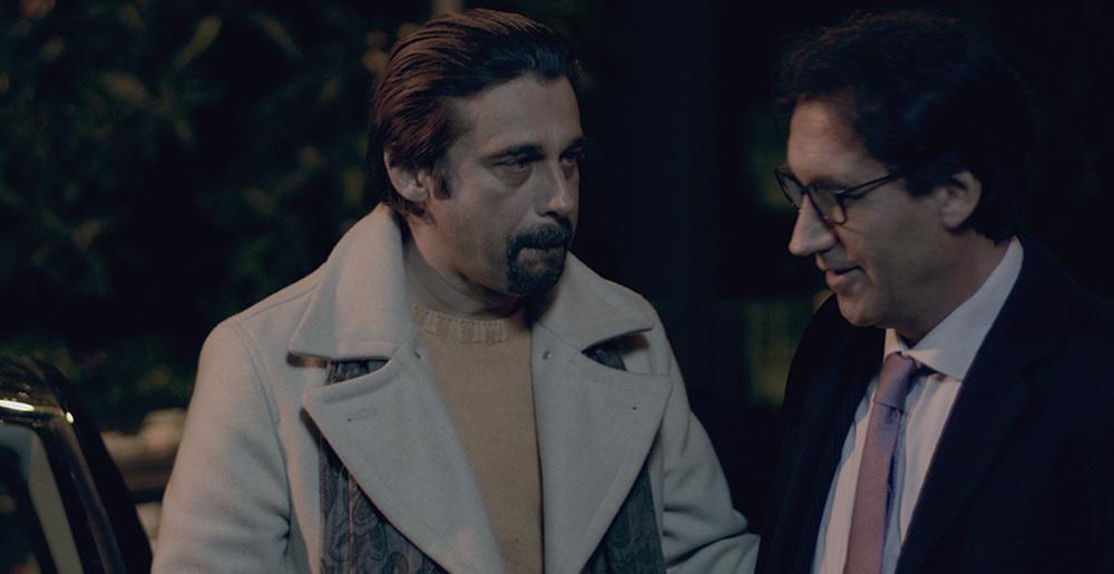 Al massimo ribasso: Rosario Errico e Jordi Mollà in una scena del film