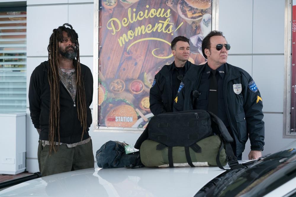 211 - Rapina in corso: Dwayne Cameron e Nicolas Cage in un momento del film