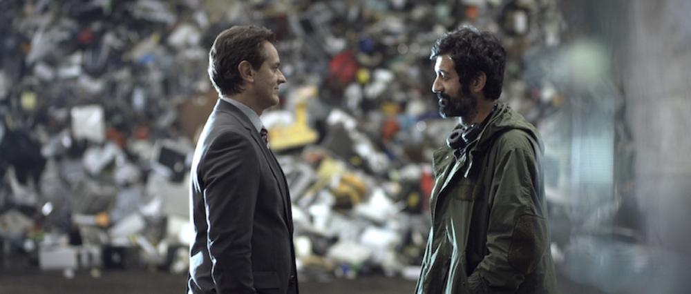 Al massimo ribasso: Matteo Carlomagno in un momento del film