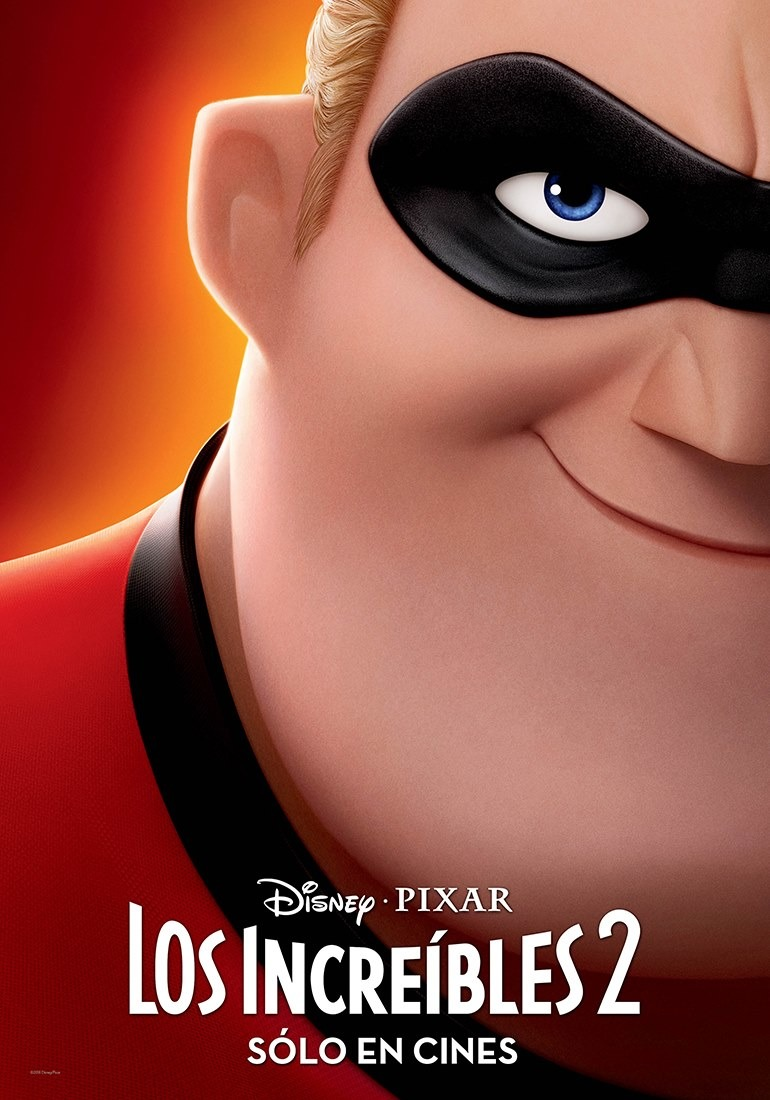 Gli incredibili 2: un character poster del film