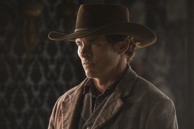Westworld: James Marsden in una scena dell'episodio Phase Space