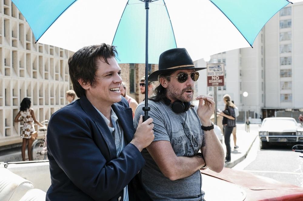 Action Point: Johnny Knoxville e il regista Tim Kirkby sul set del film