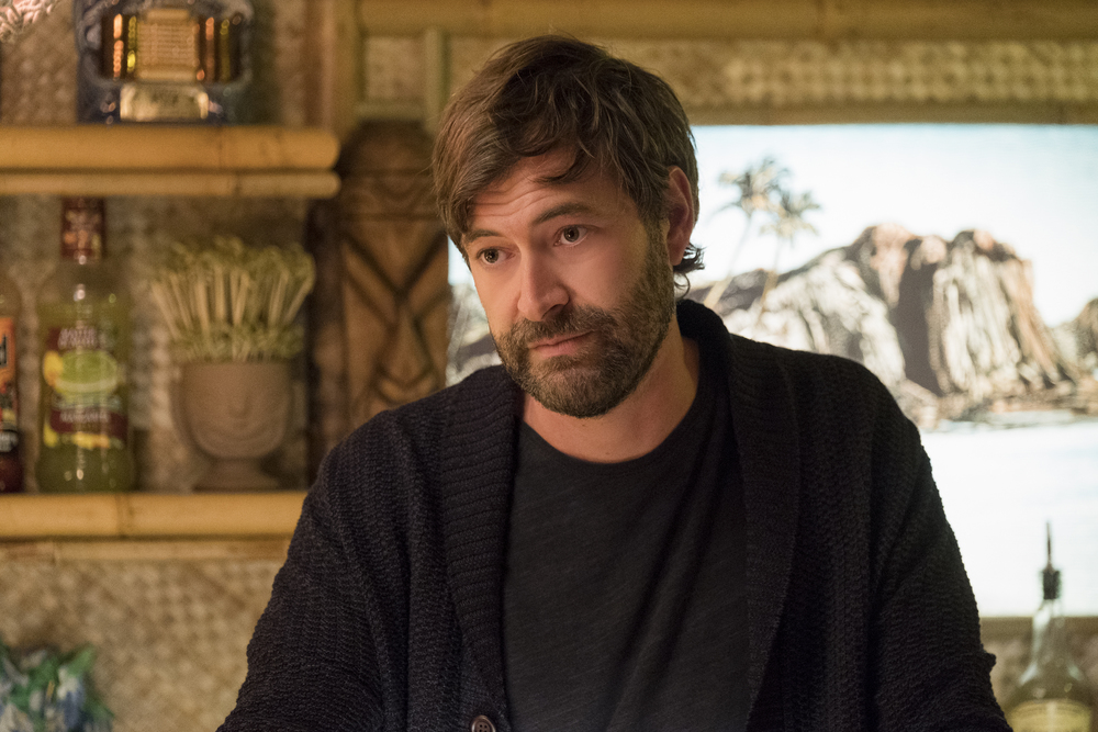 Tully: Mark Duplass in una scena del film