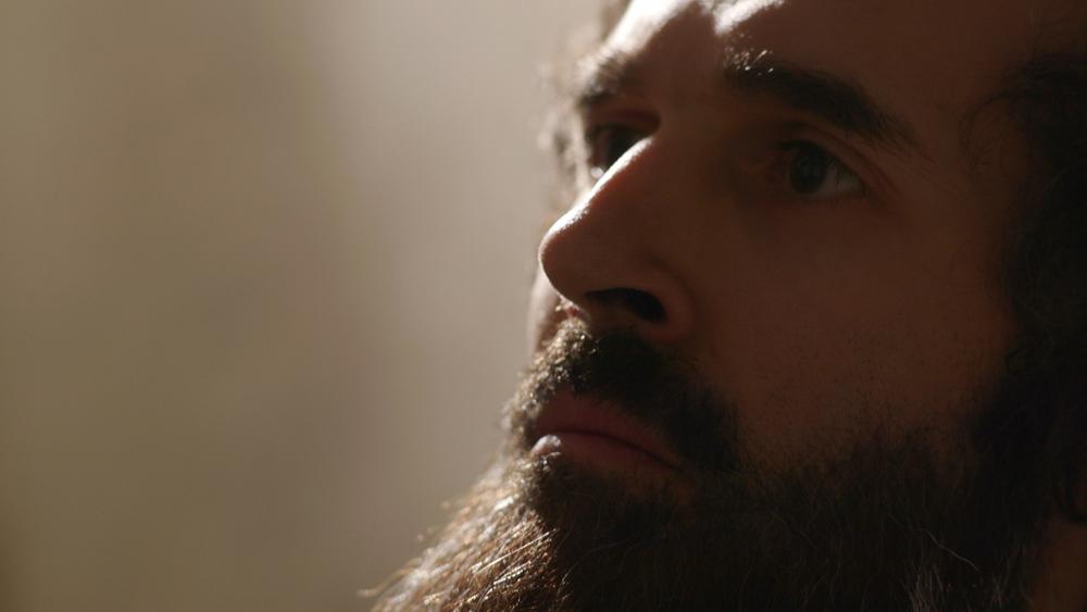 Le memorie di Giorgio Vasari: Brutius Selby in una scena del film