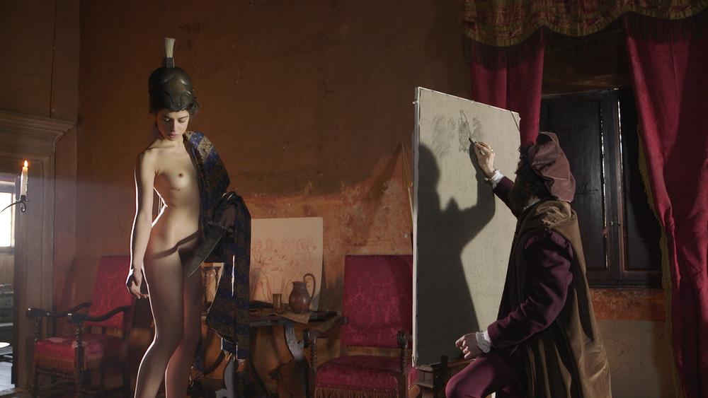 Le memorie di Giorgio Vasari: una scena del film