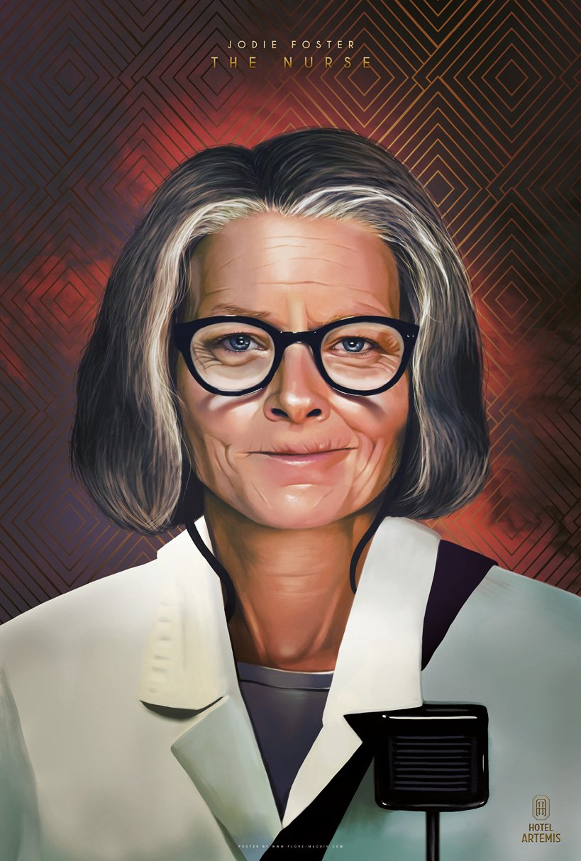 Hotel Artemis: il character poster di Jodie Foster
