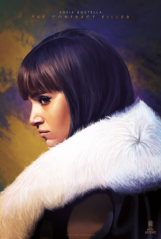 Hotel Artemis: il character poster di Sofia Boutella