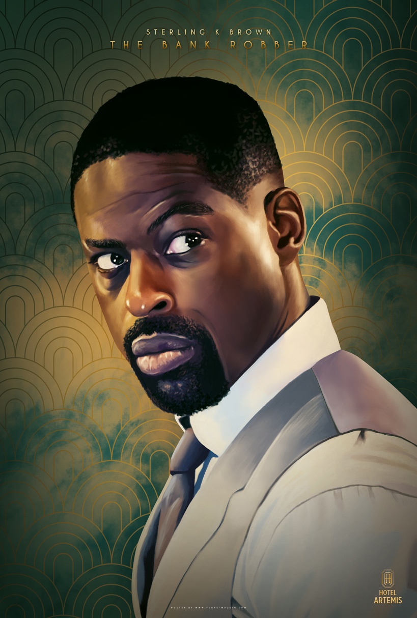 Hotel Artemis: il character poster di Sterling K. Brown