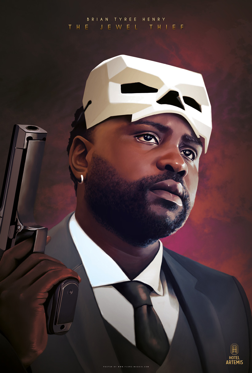 Hotel Artemis: il character poster di Brian Tyree Henry