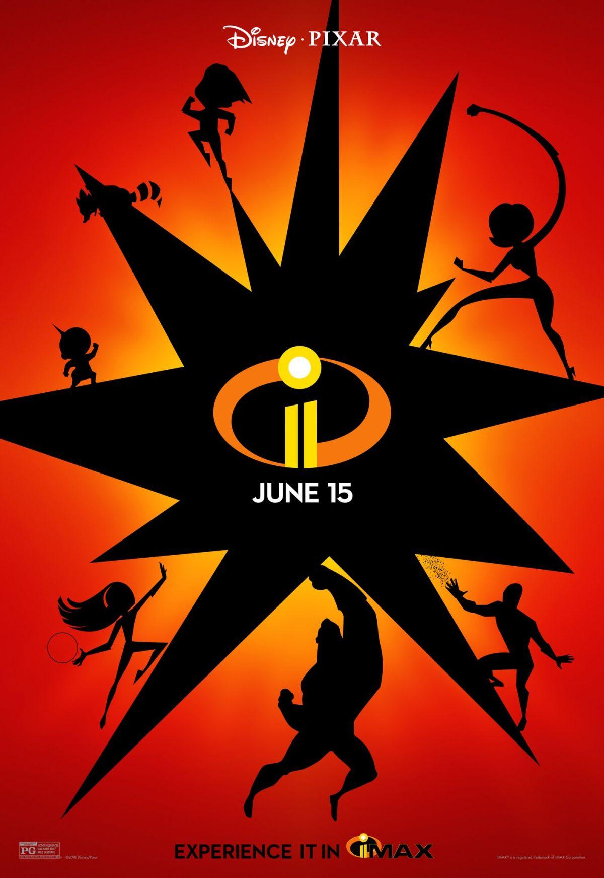 Gli incredibili 2: il poster della versione IMAX