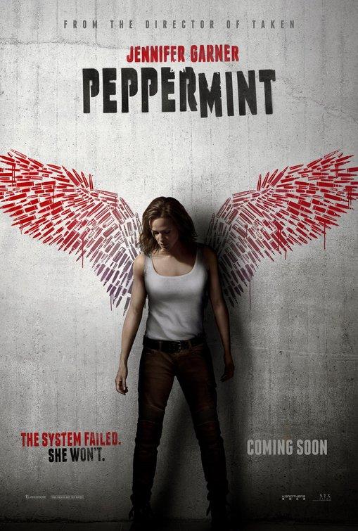 Locandina originale di Peppermint - L'Angelo della vendetta