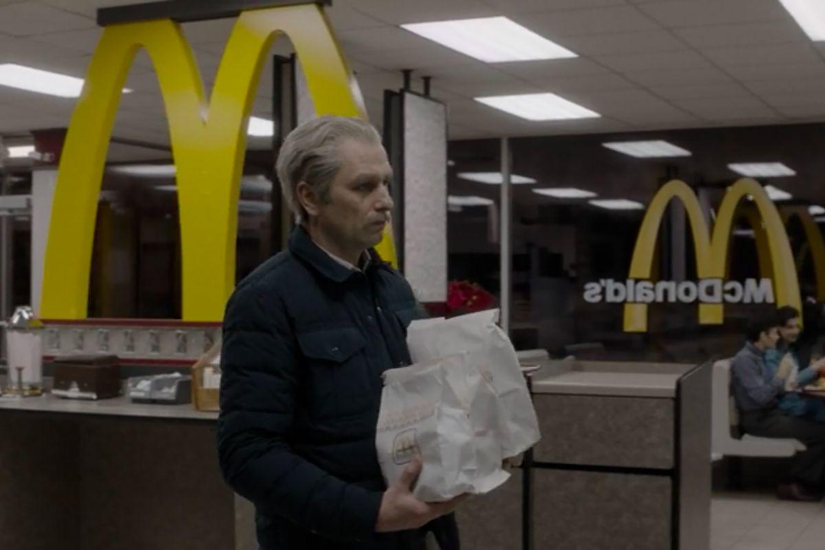 The Americans: Matthew Rhys in una scena dell'episodio Start
