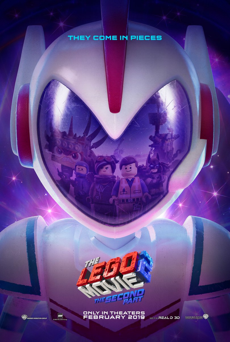The LEGO Movie 2: il poster del film