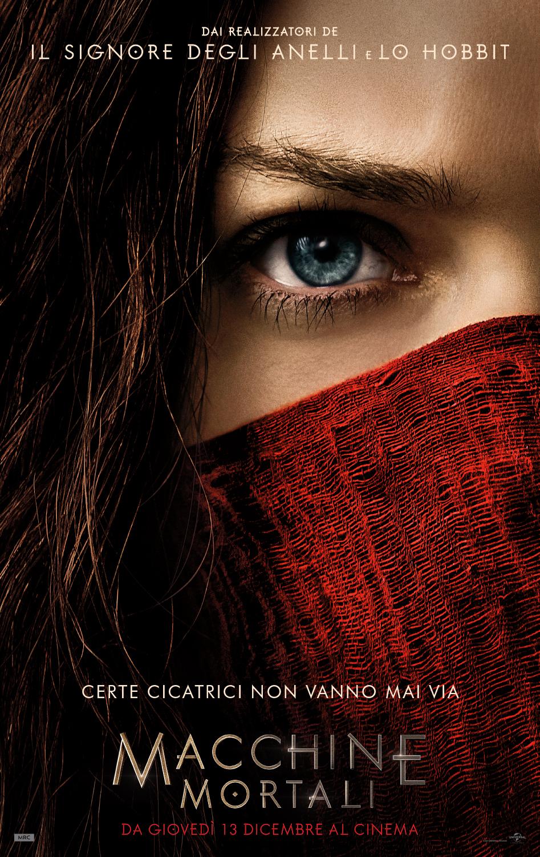 Macchine Mortali: il poster italiano del film