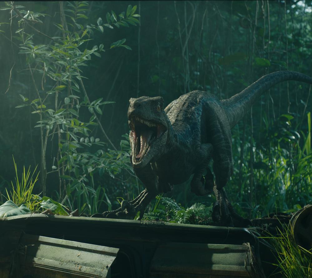 Jurassic World - Il regno distrutto: una scena del film
