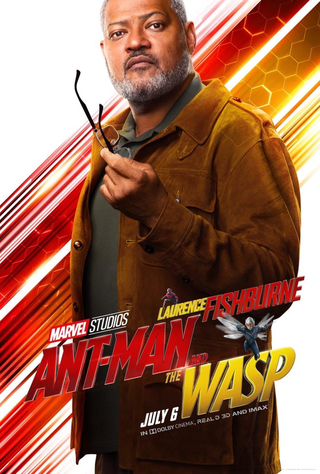 Ant-Man And The Wasp: Laurence Fishburne è Bill Foster