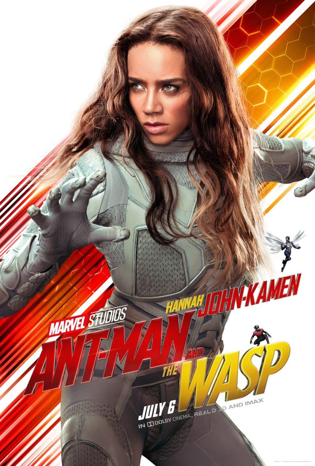 Ant-Man And The Wasp: Hannah John-Kamen è Ghost