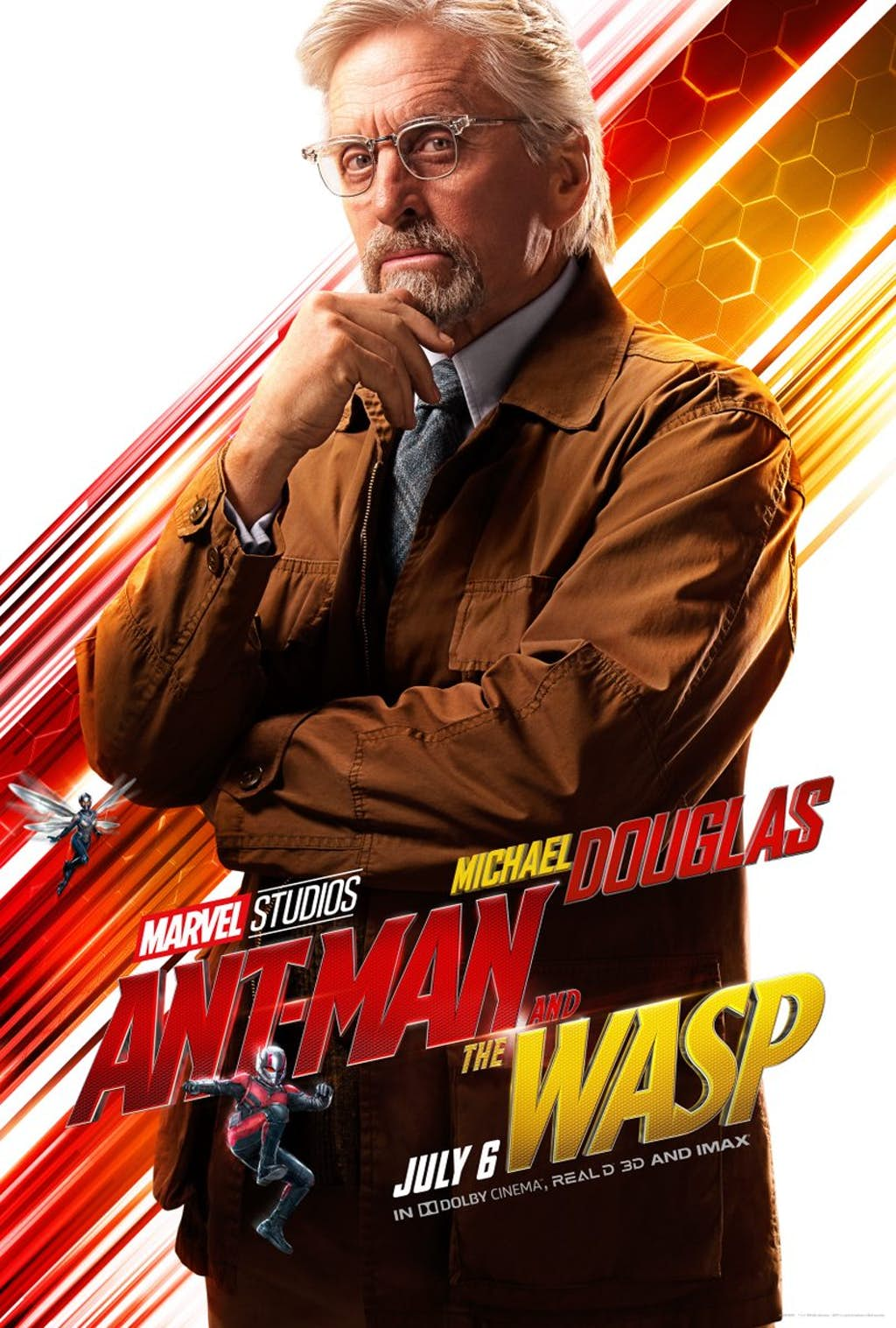 Ant-Man And The Wasp: Michael Douglas è Hank Pym