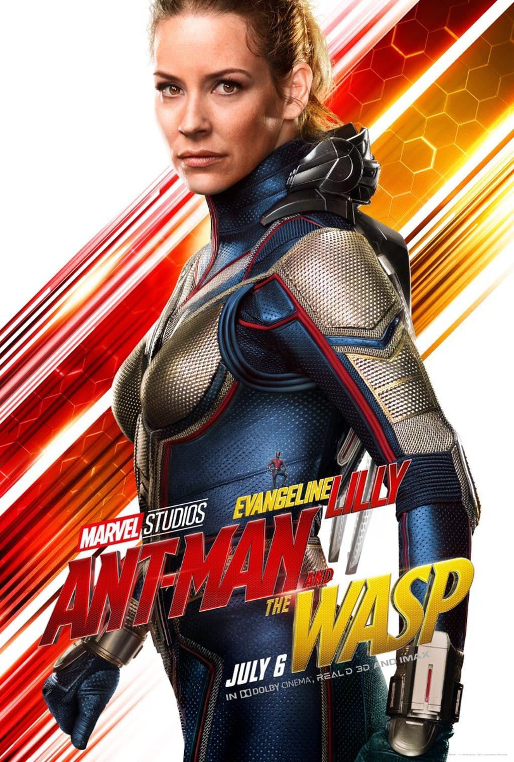 Ant-Man And The Wasp: Evangeline Lilly è Hope van Dyne