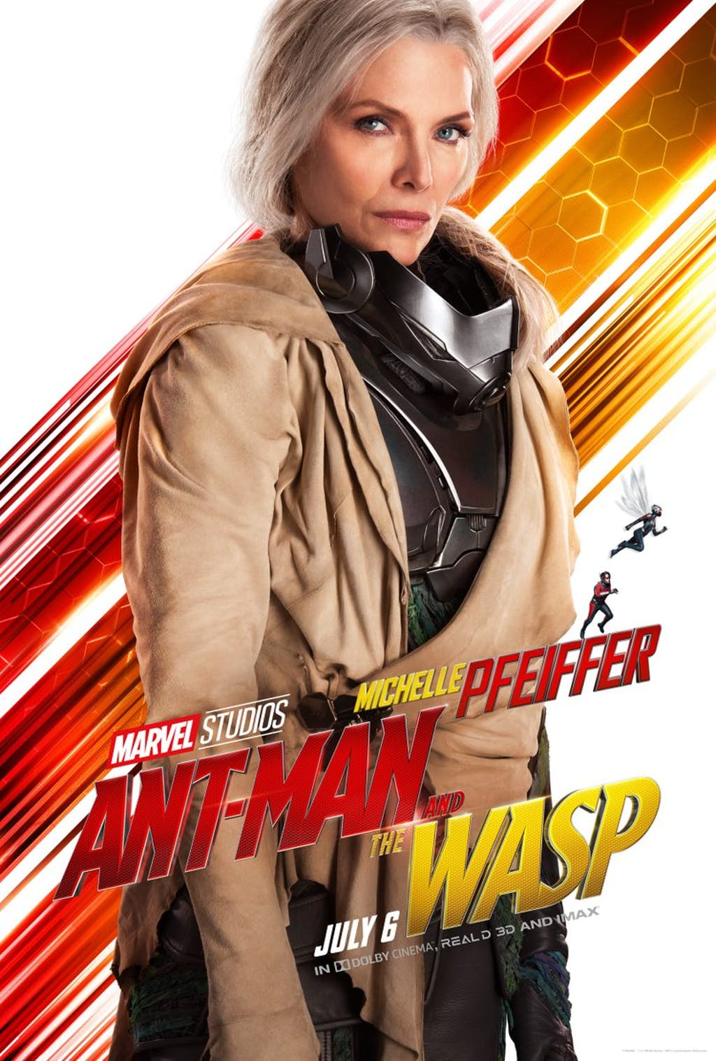 Ant-Man And The Wasp: Michelle Pfeiffer è Janet van Dyne