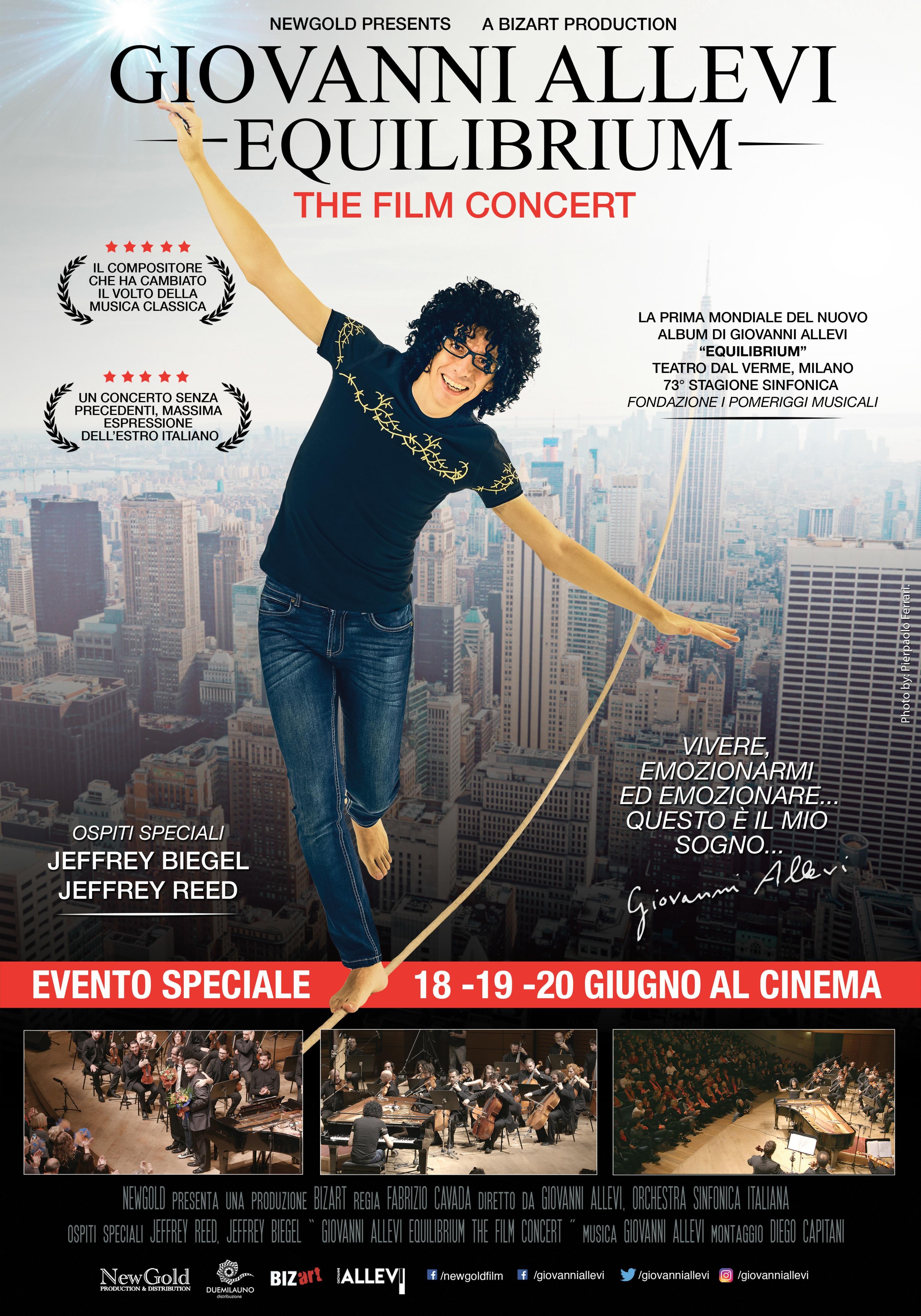 Locandina di Giovanni Allevi - Equilibrium: The Film Concert