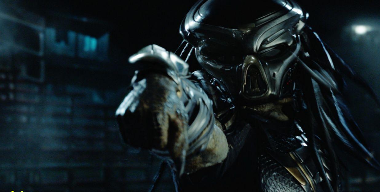 The Predator: un primo piano della creatura