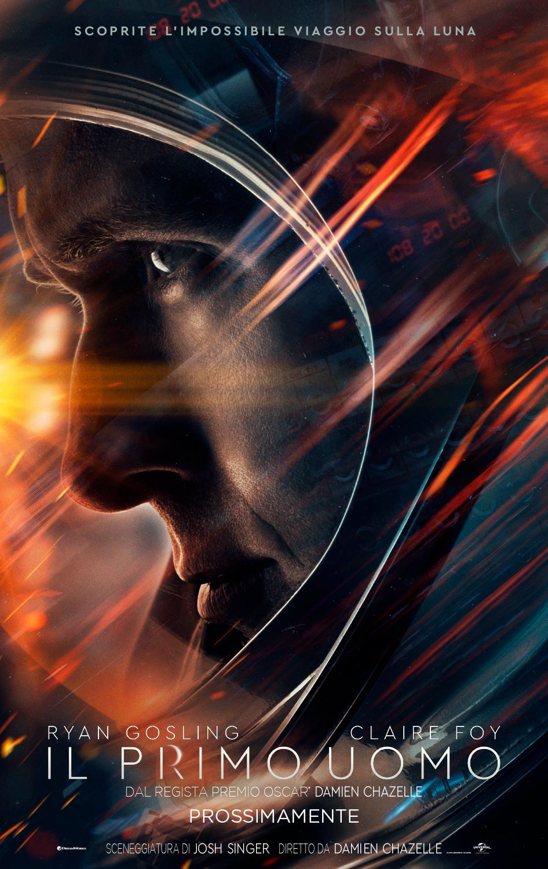 Il Primo Uomo: il poster italiano del film con Ryan Gosling