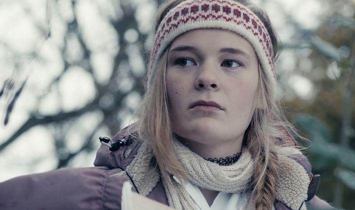 Noi siamo la marea: Swantje Kohlhof in una scena del film