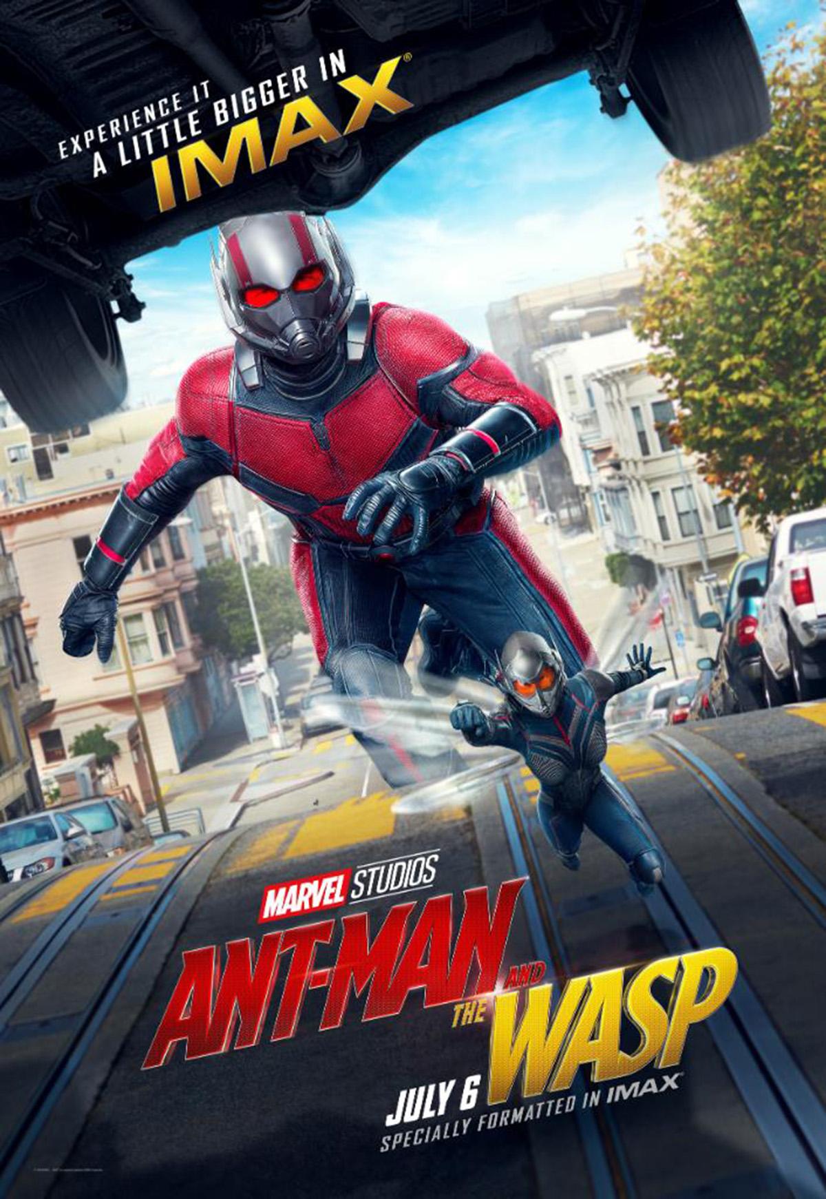 Ant-Man and the Wasp: un nuovo poster del film nella versione IMAX