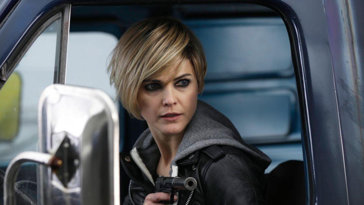 The Americans: Keri Russell in una scena della serie