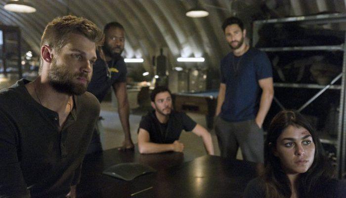 The Brave: una foto del cast della serie