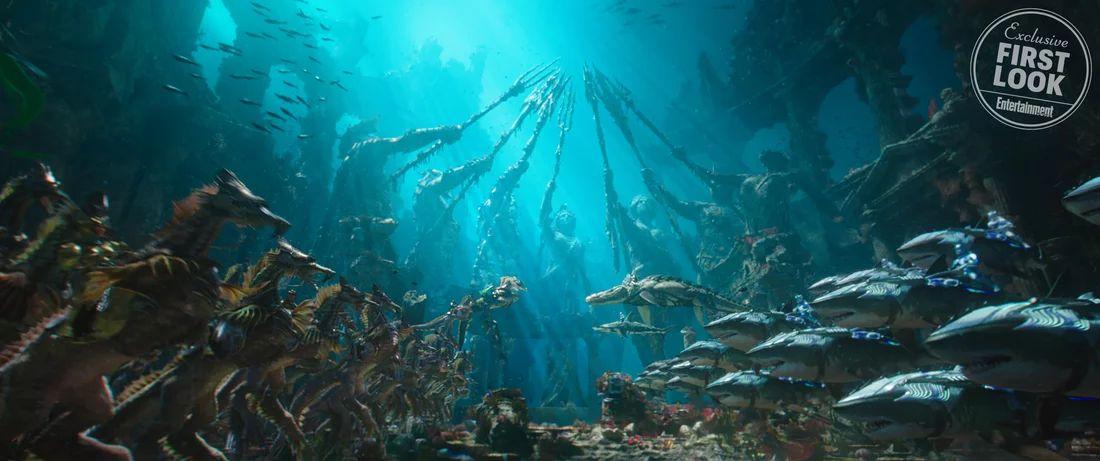 Aquaman: una foto del film