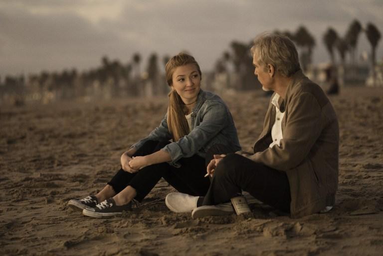 Goliath: Diana Hopper e Billy Bob Thornton in una foto della seconda stagione