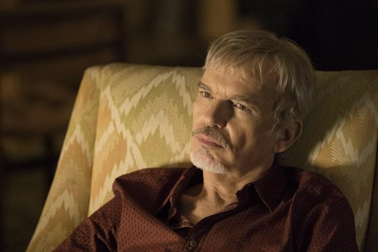 Goliath: Billy Bob Thornton in una foto della seconda stagione