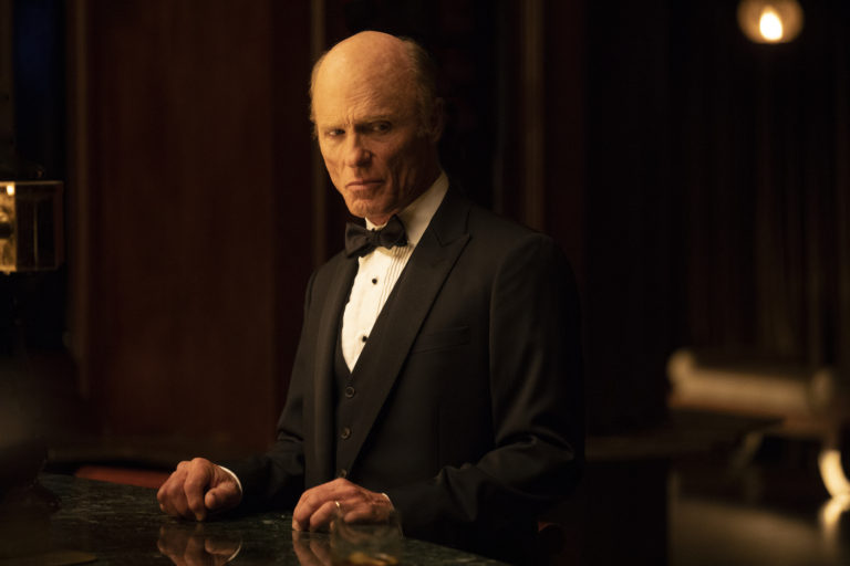 Westworld: Ed Harris in una scena dell'episodio Vanishing Point
