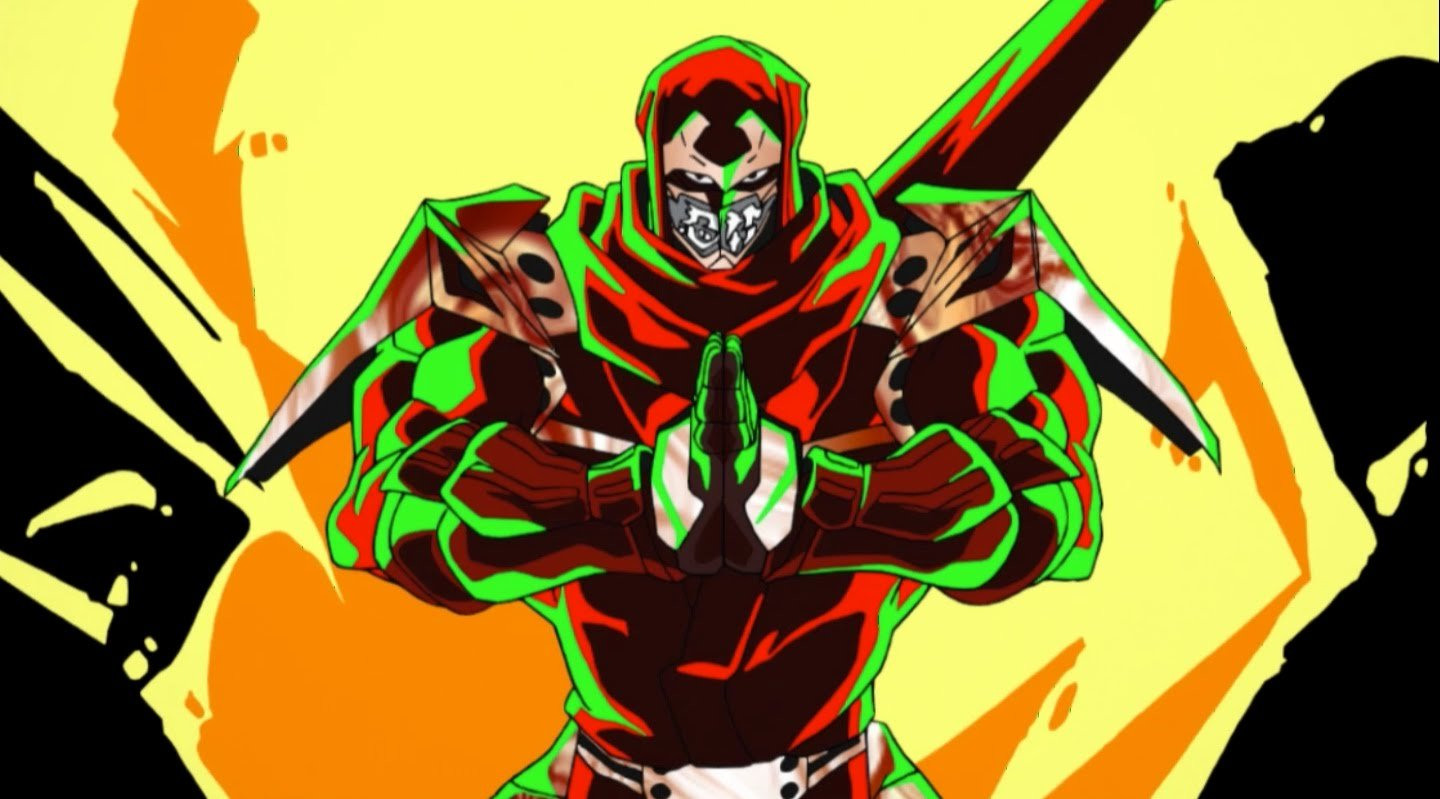 Ninja Slayer from Animation: un'immagine della serie anime
