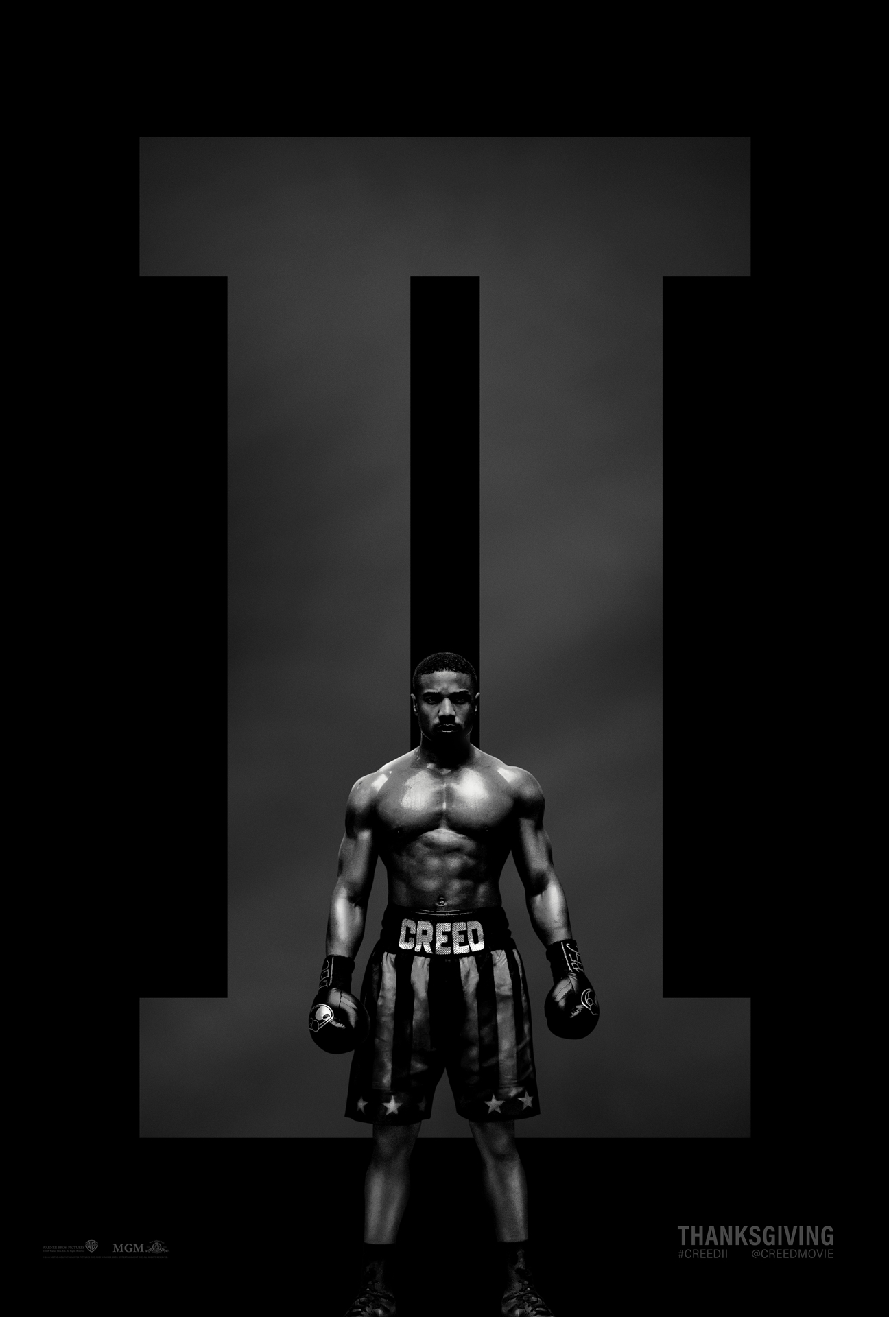 Creed II: il poster del film