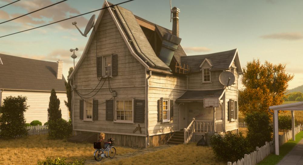 Luis e gli alieni: un'immagine tratta dal film animato