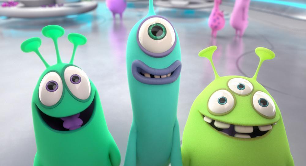 Luis e gli alieni: un'immagine del film animato
