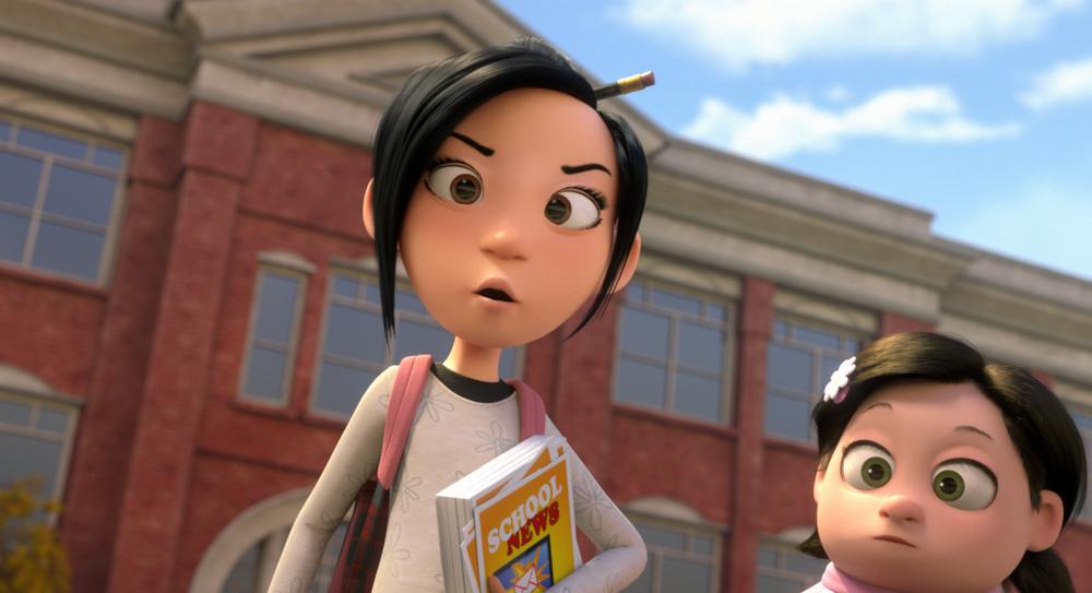 Luis e gli alieni: un momento del film d'animazione