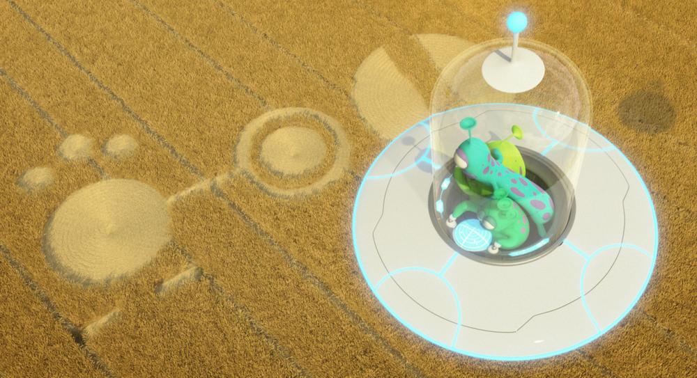 Luis e gli alieni: un momento del film animato