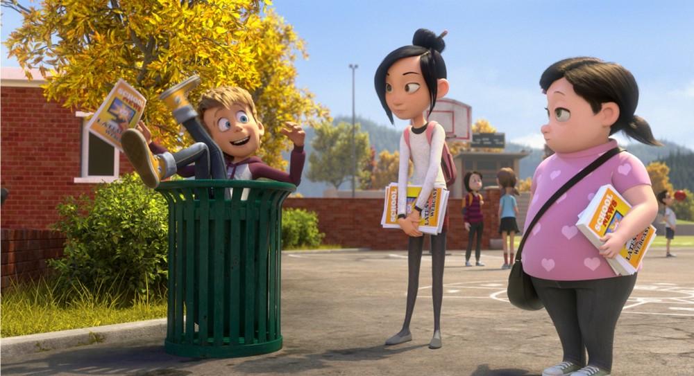 Luis e gli alieni: una scena del film d'animazione