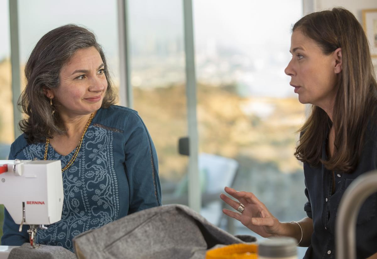 The Affair: una scena con Maura Tierney nella premiere della quarta stagione
