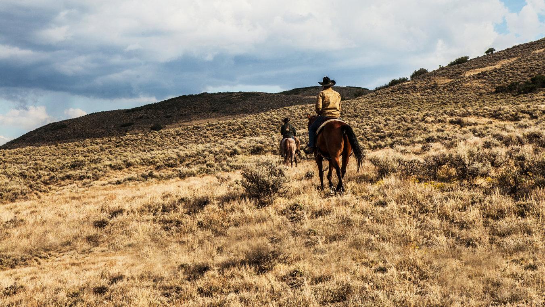 Yellowstone: una scena della serie