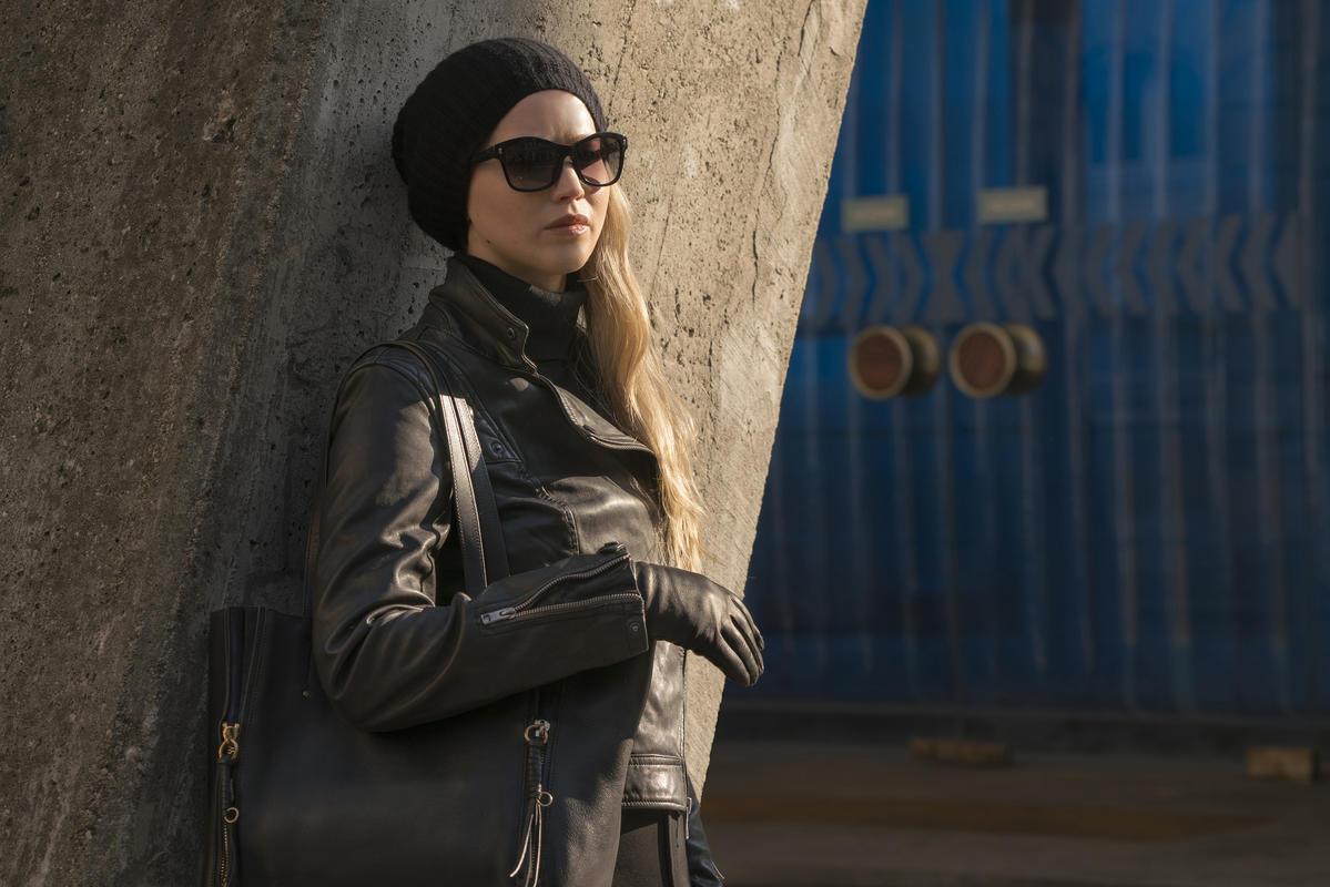 Red Sparrow: Jennifer Lawrence in un momento del film