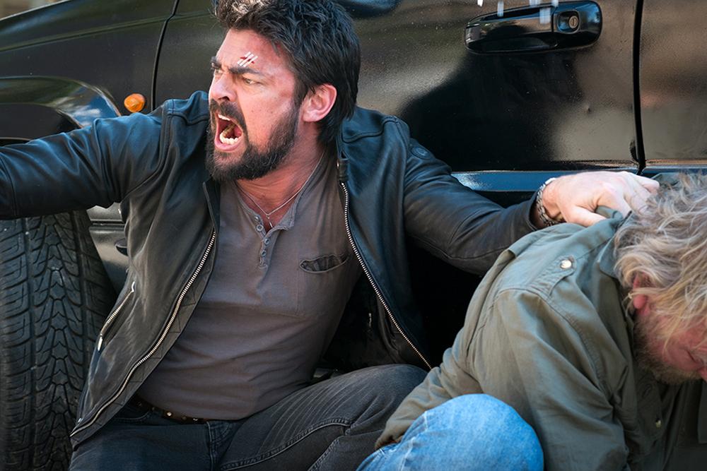 Bent - Polizia criminale: Karl Urban in un'immagine del film