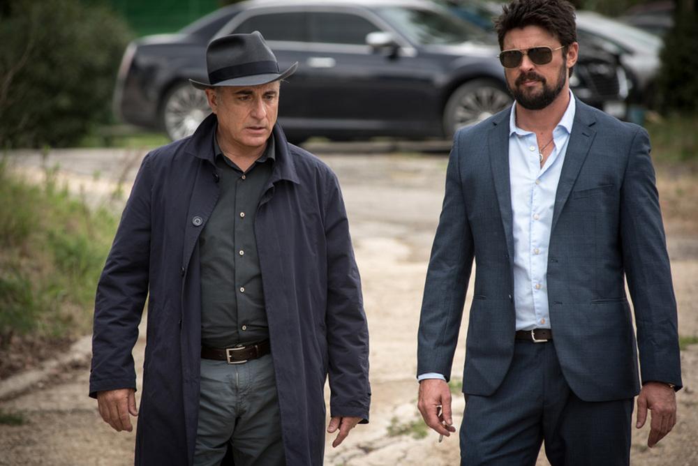 Bent - Polizia criminale: Karl Urban e Andy Garcia in un momento del film