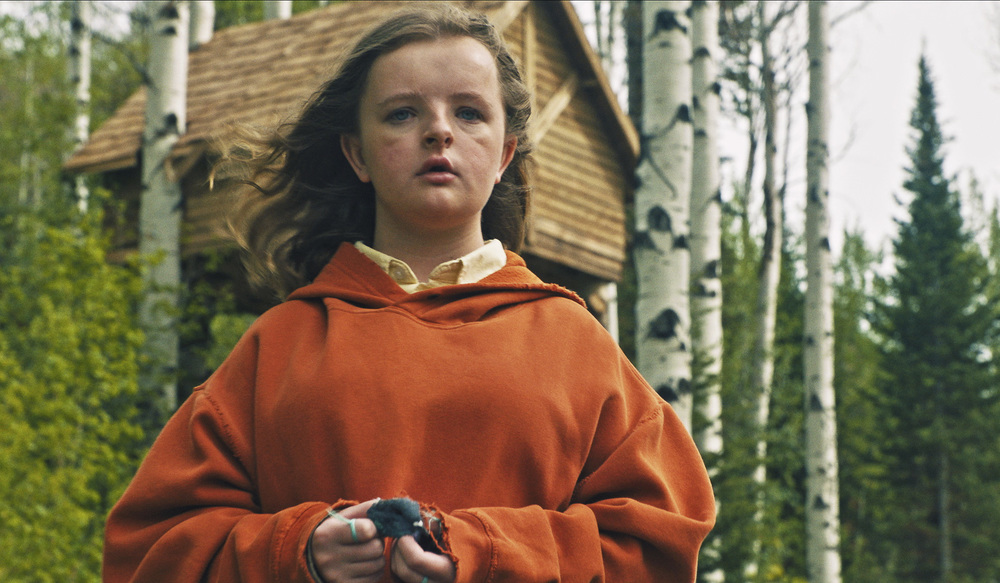 Hereditary: Milly Shapiro in una scena del film