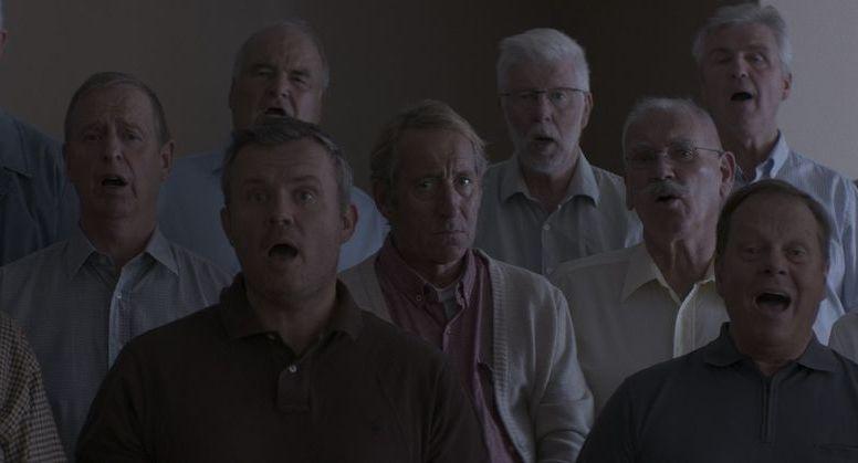 L'albero del vicino: una scena di gruppo del film