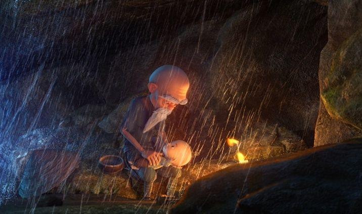 Monkey King: Hero Is Back, una scena del film animato